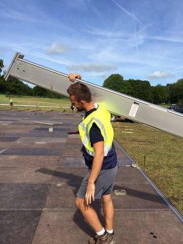 Marquee erector jobs in the UK with RS Crew Hire