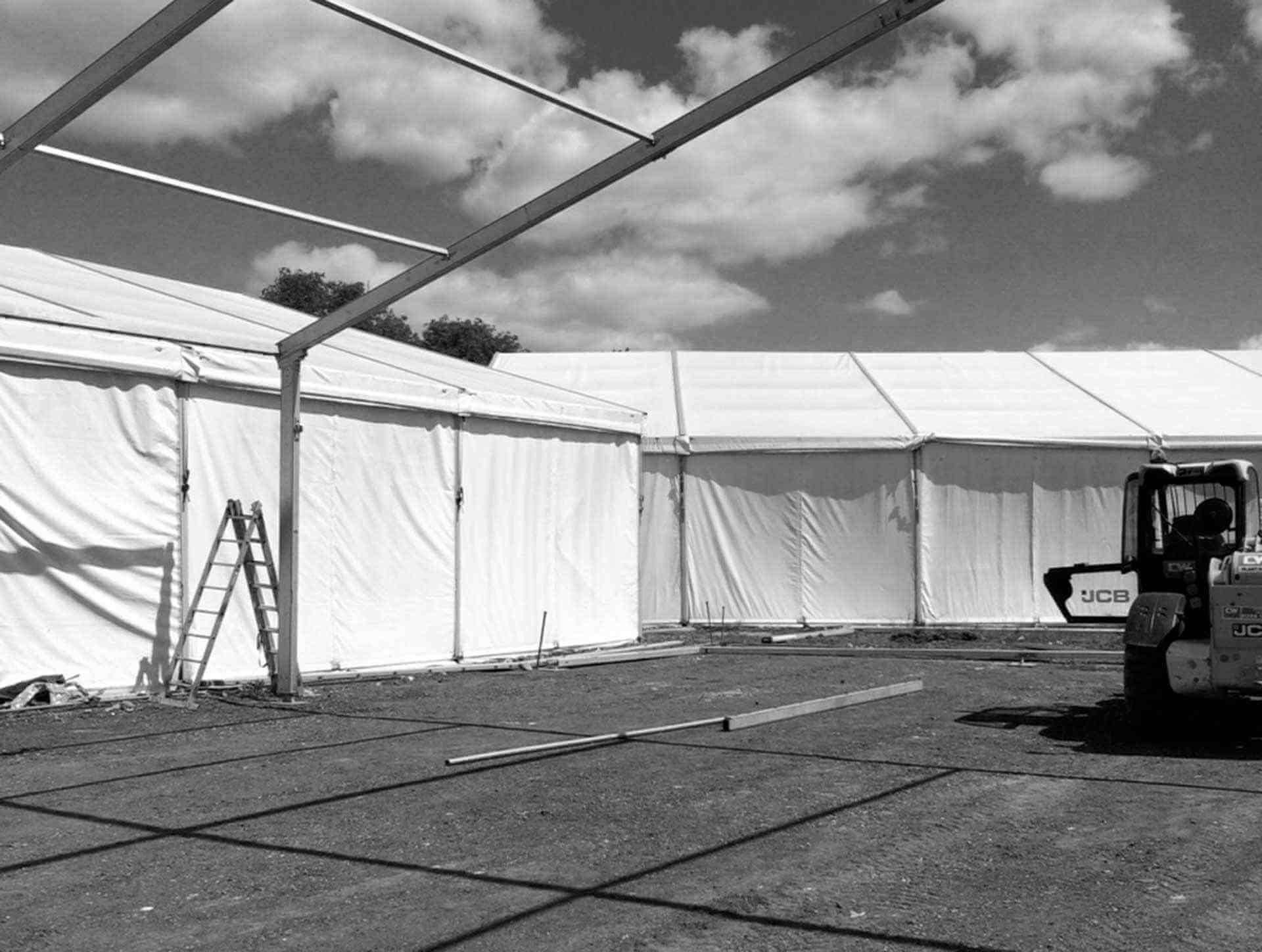 marquee erectors and event crew